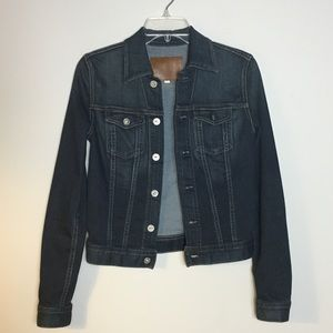 AG Adriano Goldschmied • Dark wash denim jacket
